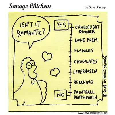 Savage Chickens - Romantic