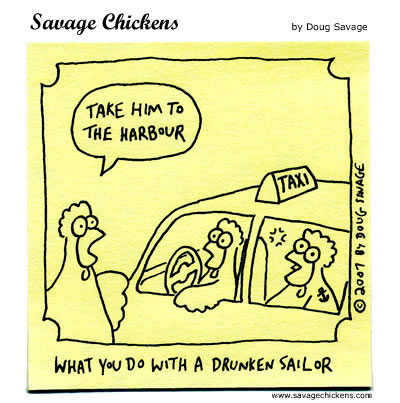 Savage Chickens - The Sailor