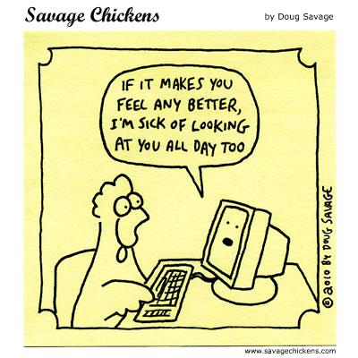 Savage Chickens - Mutual