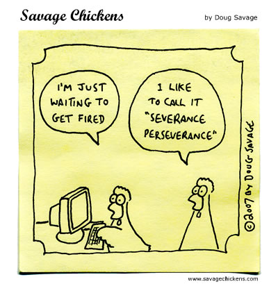 Savage Chickens - Severance