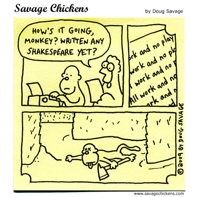Savage Chickens - The Writing Process