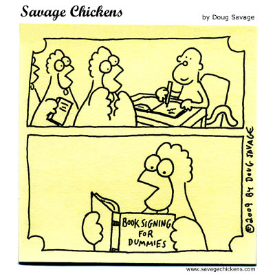 Savage Chickens - The Signing