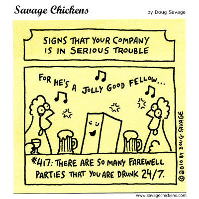 Savage Chickens - Serious Trouble