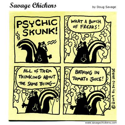 Savage Chickens - Return of Psychic Skunk