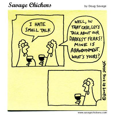 Savage Chickens - Making Conversation