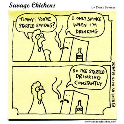 Savage Chickens - Addictive