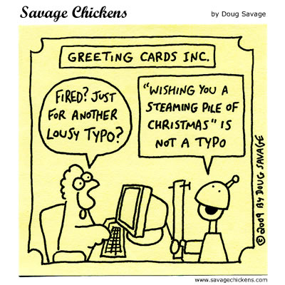Savage Chickens - Season's Greetings