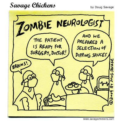 Ready For Surgery Cartoon Savage Chickens Cartoons On Sticky