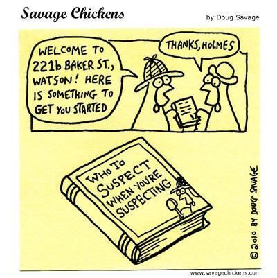 Savage Chickens - New Detective