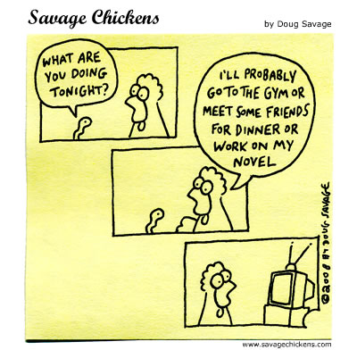 Savage Chickens - Thursday Night