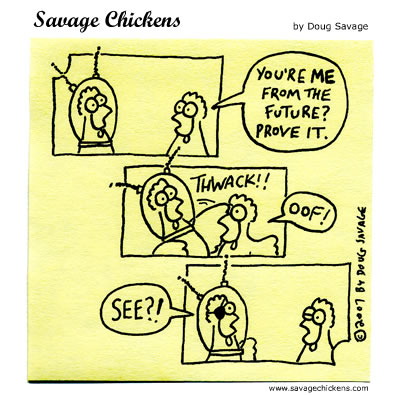 Savage Chickens - A Thwack In Time