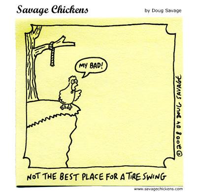 Savage Chickens - Higher