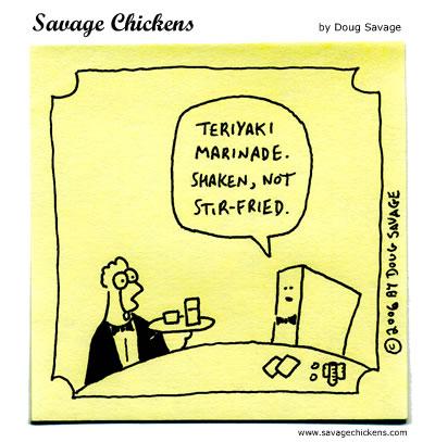 Savage Chickens - Tofu Royale