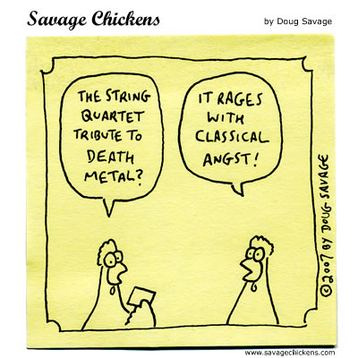 Savage Chickens - Death Metal