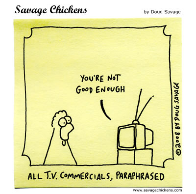 Savage Chickens - Commercial Break