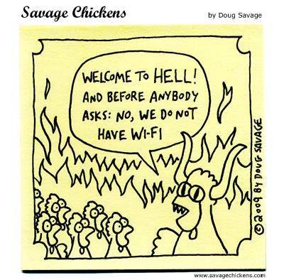 Savage Chickens - Orientation