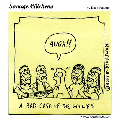 Savage Chickens - The Dangers of Cloning