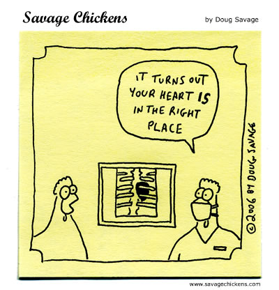 Savage Chickens - X-ray