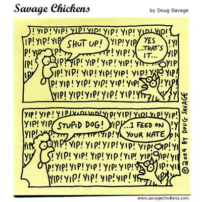 Savage Chickens - Yappy Dog