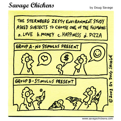 Savage Chickens - The Latest Research