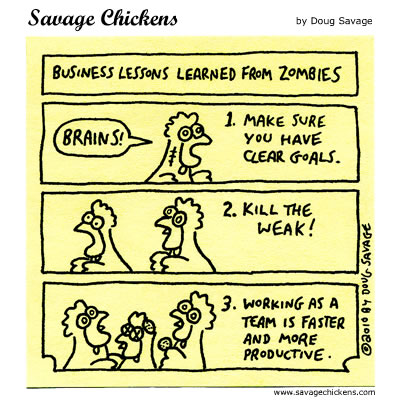 Savage Chickens - Business Lessons