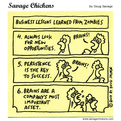 Savage Chickens - Business Lessons II