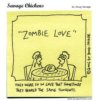 Savage Chickens - Zombie Love