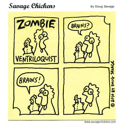Savage Chickens - Zombie Ventriloquist