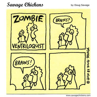 Savage Chickens - Zombie Ventriloquist Revisited