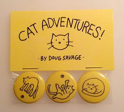Cat Adventures buttons