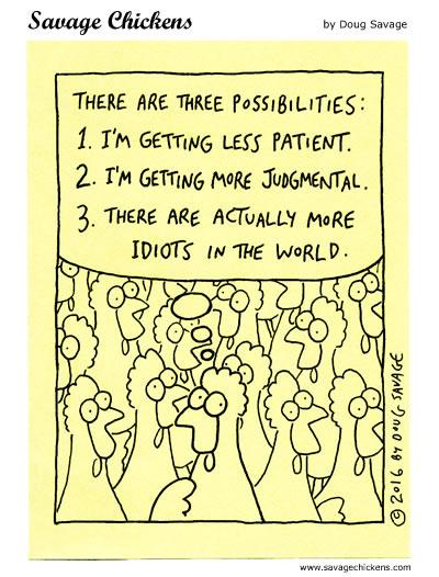 Three Possibilities