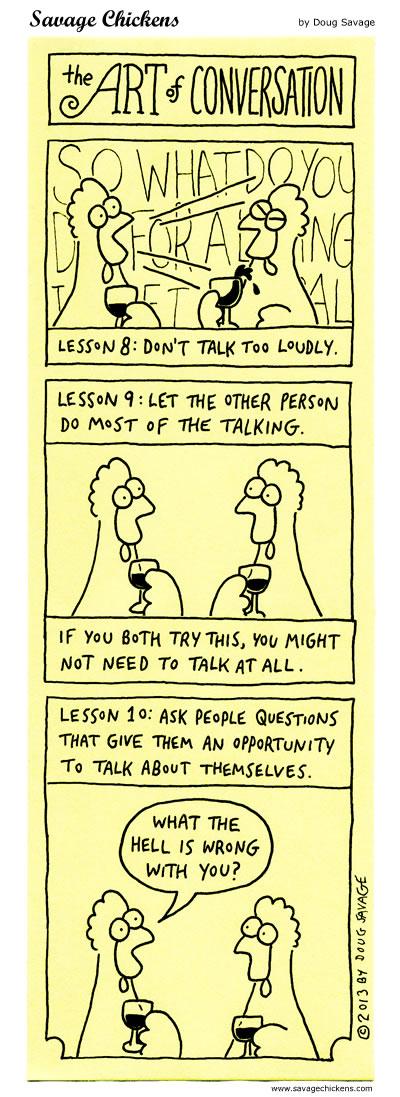 The Art of Conversation 8 - 10