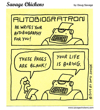 Return of Autobiogratron