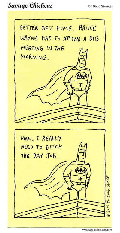 Someday, Batman