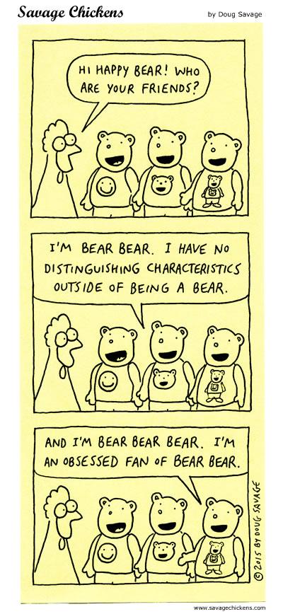Happy Bear & Friends