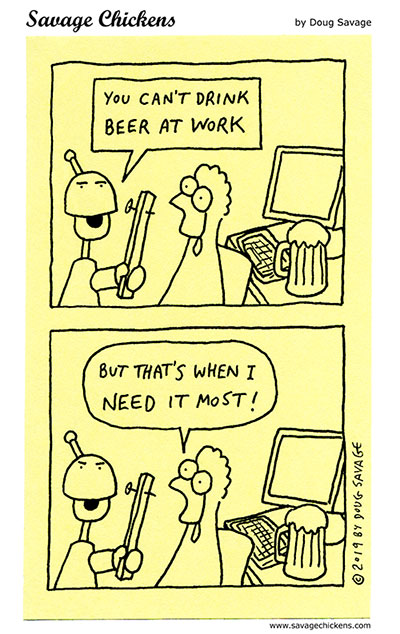Beer at Work