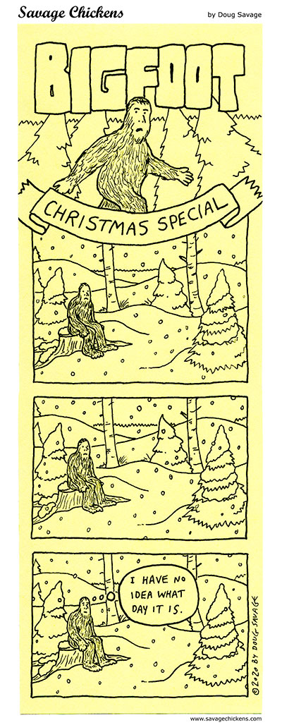Bigfoot Christmas Special