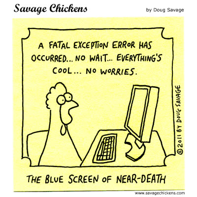 Fatal Exception Error
