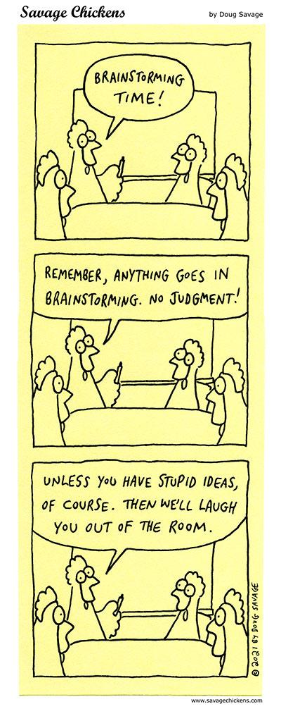 Brainstorming Time!