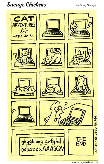 Cat Adventures 7