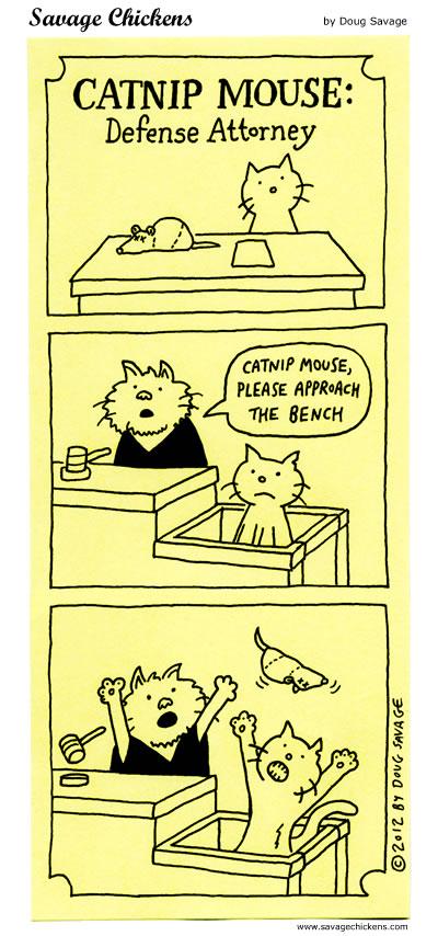 Catnip Mouse