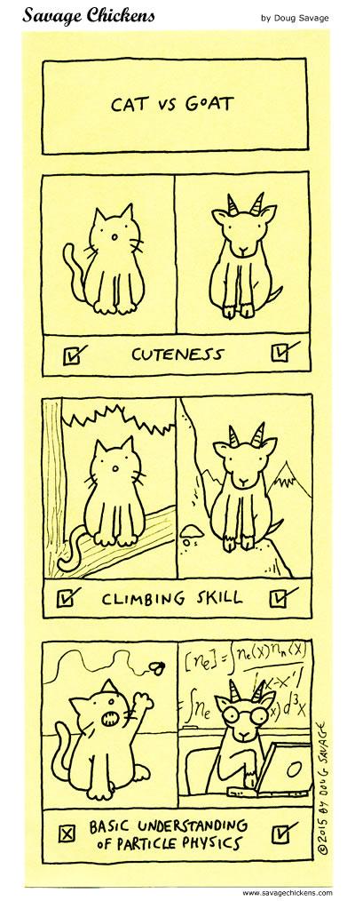 Cat vs Goat