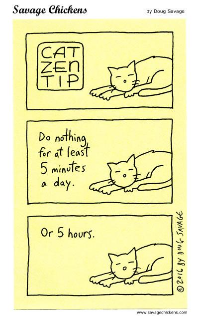 Cat Zen Tip