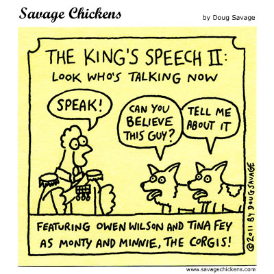 The King's Speech II