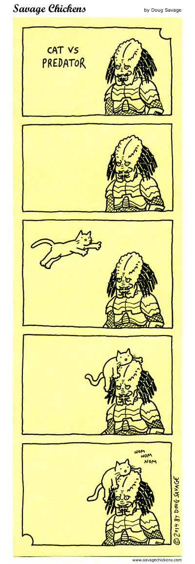 Cat vs Predator