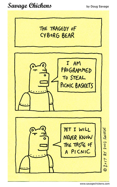 The Tragedy of Cyborg Bear