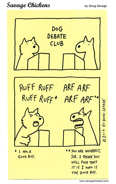 Dog Debate Club