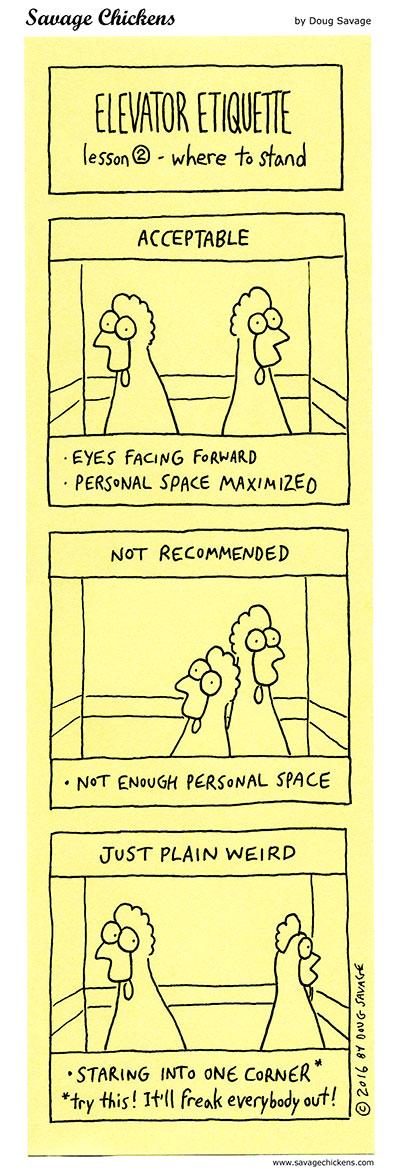 Elevator Etiquette 2
