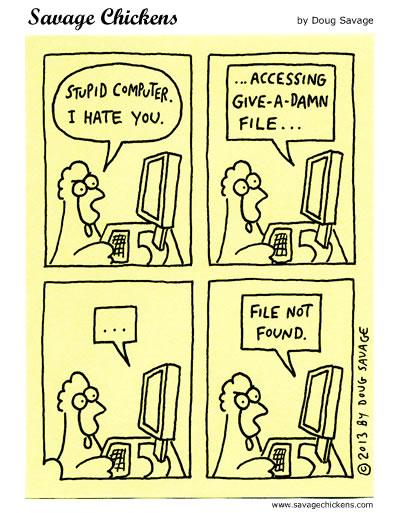 Stupid Computer