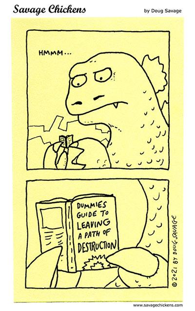 Godzilla Reads
